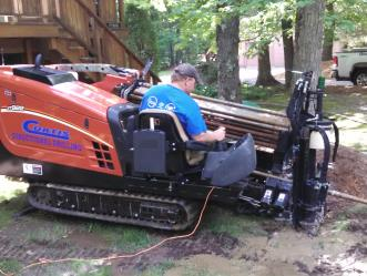 HDD Horizontal Directional Directional Drilling Rig in Massachusetts